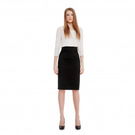 Femme fatale pencil skirt
